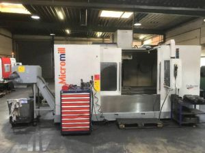 Centre d'usinage vertical MICROMILL CHALLENGER VMC 1600 F