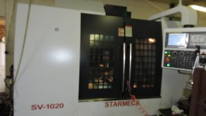 Centre d'usinage CNC STARMECA SV 1020