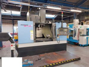 Centre d'usinage vertical - 4 axes DOOSAN NM 510