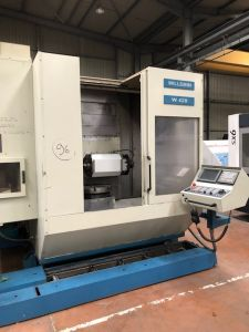 Centre d'usinage CNC 5 AXES WILLEMIN MACODEL W428